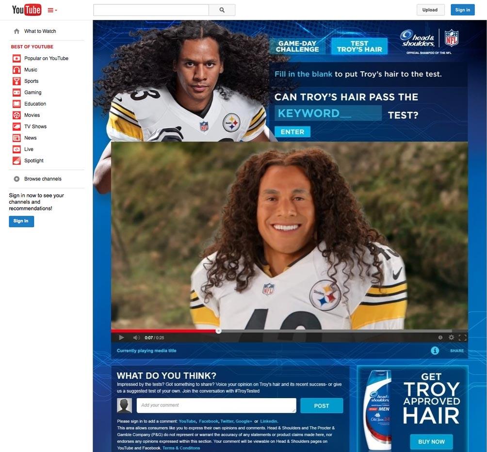 Test Troy's Hair screenshot